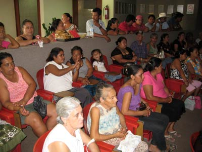 Foto: AFMedios/Habitantes de Cofradía de Morelos estuvieron este día en el Congreso del Estado.