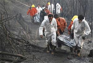 Los incendios no dan tregua en Chile