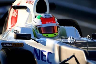 """Dominan Hamilton y Schumacher los libres en China, """"Checo"""" fue cuarto"""