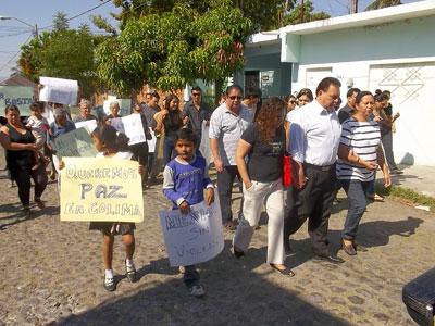 Marchan para exigir justicia del asesinato de Ignacio Palomino