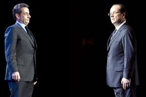 Hollande gana la primera vuelta de las elecciones en Francia