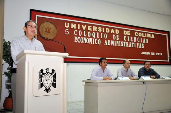 Realizan V Coloquio Internacional de Ciencias Económico Administrativas