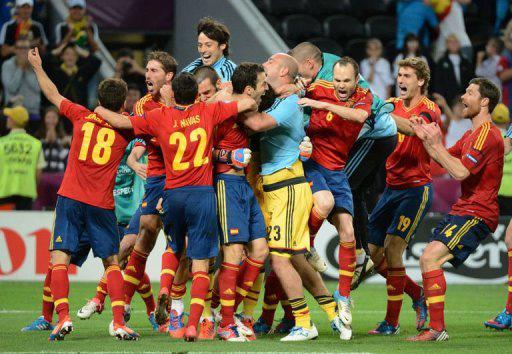 España gana por penales a Portugal y tiene una cita con la historia