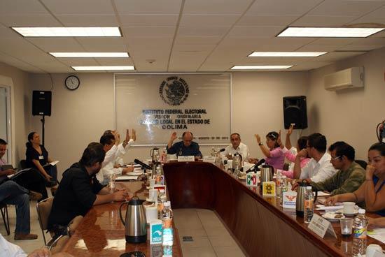 IFE concluye periodo electoral en Colima