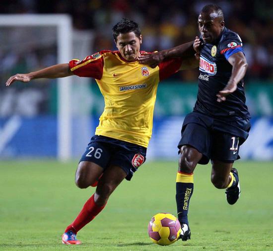 Cruz Azul 2-1 León y América 2-0 Morelia en el 'Apertura 2012'