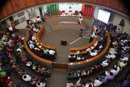 Diputados presentarán propuestas en foros para enriquecer Plan Nacional de Desarrollo