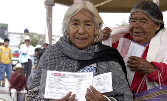 """Este martes inicia entrega de apoyos en programa """"70 y más"""""""