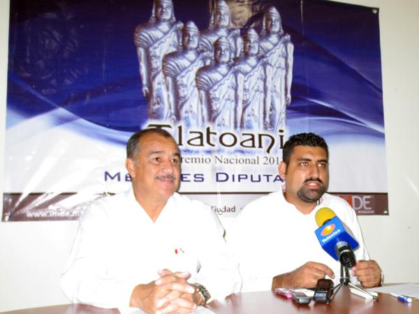 Diputados del PVEM, PRD y PT recibirán Premio Tlatoani
