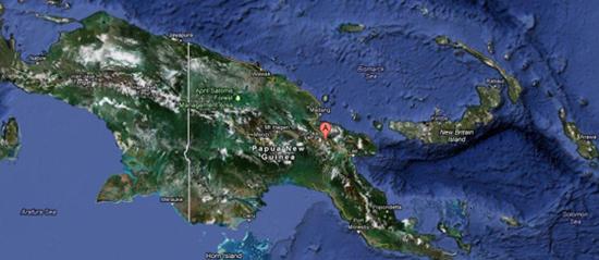 Sismo de magnitud 6,8 sacude costa de Papúa Nueva Guinea