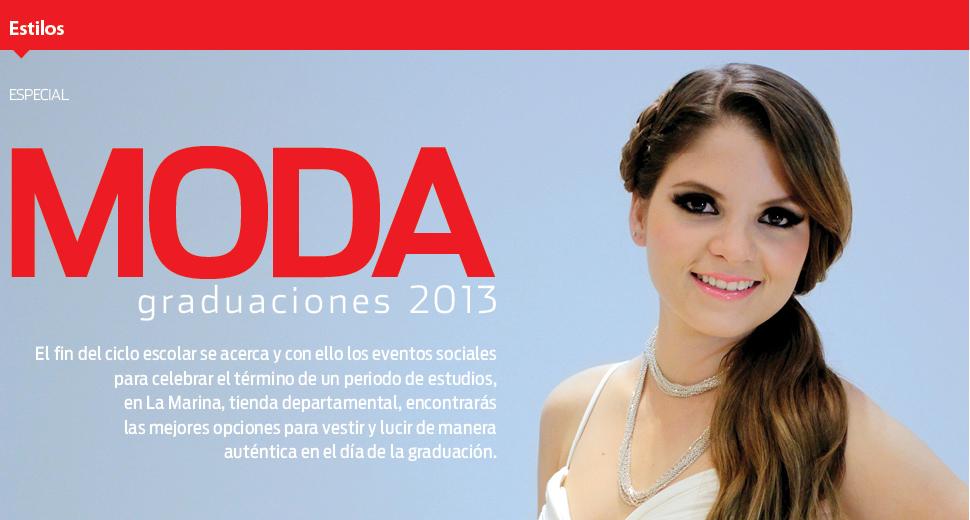 Moda graduaciones 2013