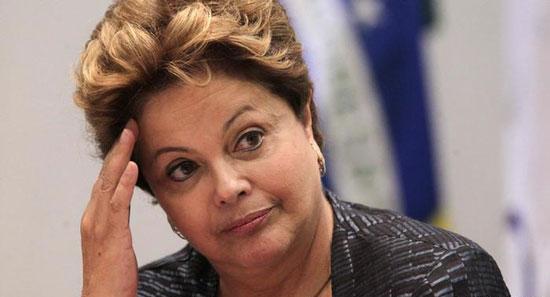 Presidenta de Brasil llama a modificar la Constitución para sofocar protestas