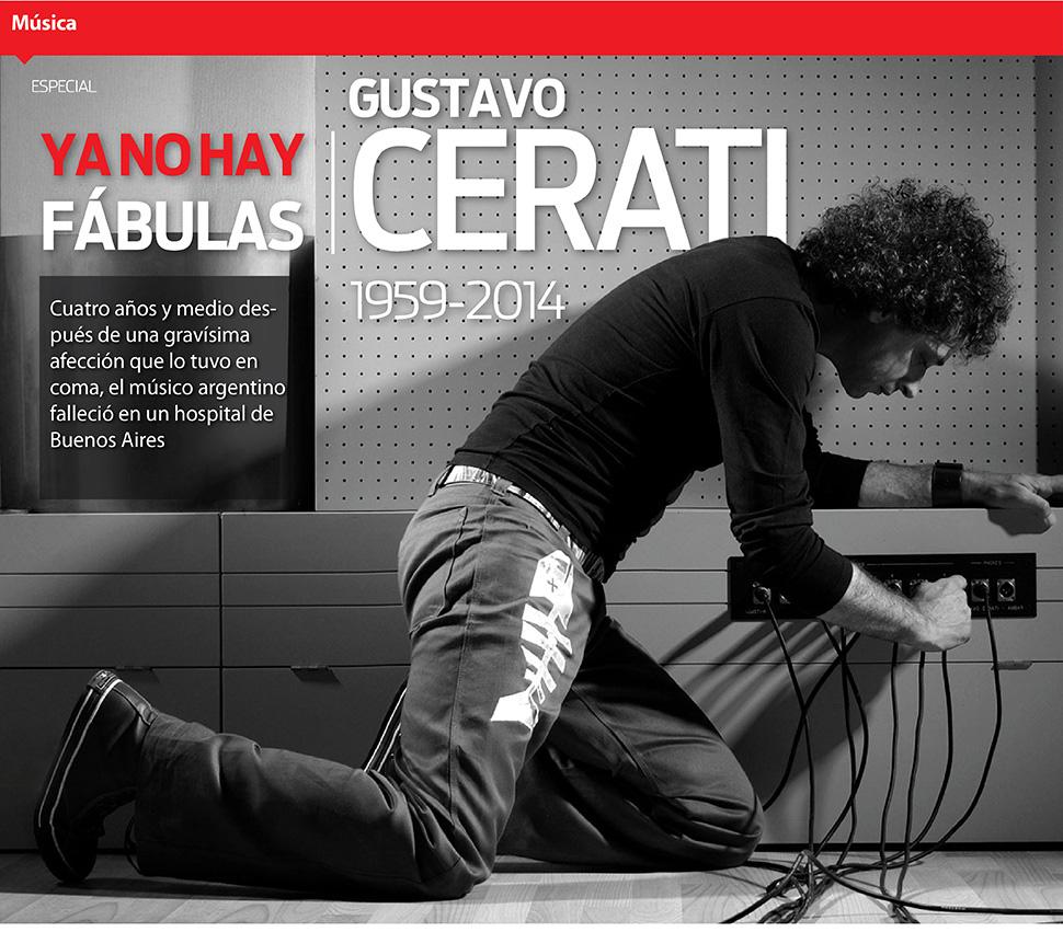 Ya no hay fábulas: Gustavo Cerati, 1959-2014