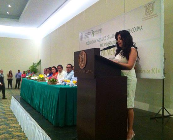 Presidenta de la FEUC rinde su primer informe de labores