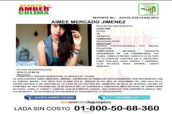 PGJ emite Alerta Amber por desaparición de una joven
