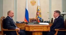 Televisión estatal rusa muestra a Putin por primera vez en días