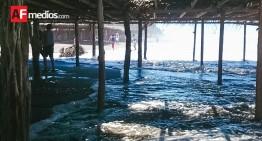 Este fin de semana se registrará incremento en el oleaje  en las costas del Estado: PC