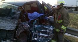 Automovilista muere prensado tras choque frontal en autopista Zapotlanejo-Guadalajara
