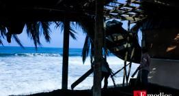 Daños menores y lluvias en municipios costeros, dejó 'Dolores' en Colima