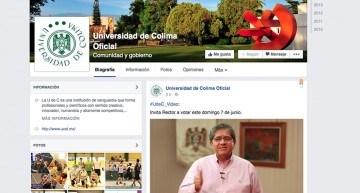 Rector de la U de Colima y líder del SUTUC convocan a votar el 7 de junio