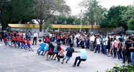 Recuperan alumnos gusto por  los juegos tradicionales