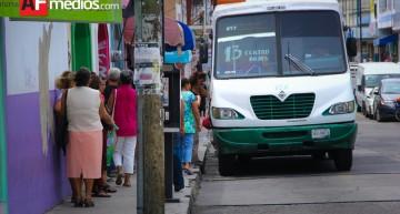 Continúa análisis de tarifa, se dialoga aumentar entre 1 y 3 pesos