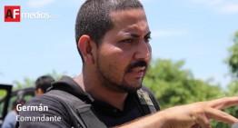 Federales no llegaron a reforzar la seguridad de Aquila, ellos vienen a detenernos: Comandante Germán