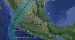 'Patricia' evolucionó a huracán categoria 1 este jueves 22 de octubre