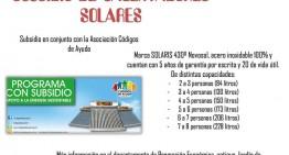 Ayuntamiento de Sayula y Asociación Códigos de Ayuda subsidiarán calentadores solares y tinacos