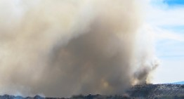 Incendio en Relleno Sanitario de Villa de Álvarez y en bodega del Moralete en Colima