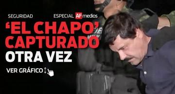 'El Chapo' capturado otra vez