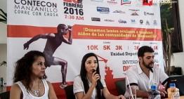 CONTECON organiza carrera en beneficio de niños pobres de Mzllo