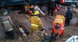Fuerte accidente en Nayarit; reportan 14 lesionados y 7 muertos