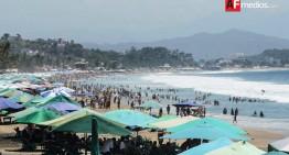 Hasta 25 mil personas esperan por día en las playas Miramar-La Boquita
