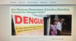 Revela estudio que limpieza de escuelas es clave para reducir el dengue