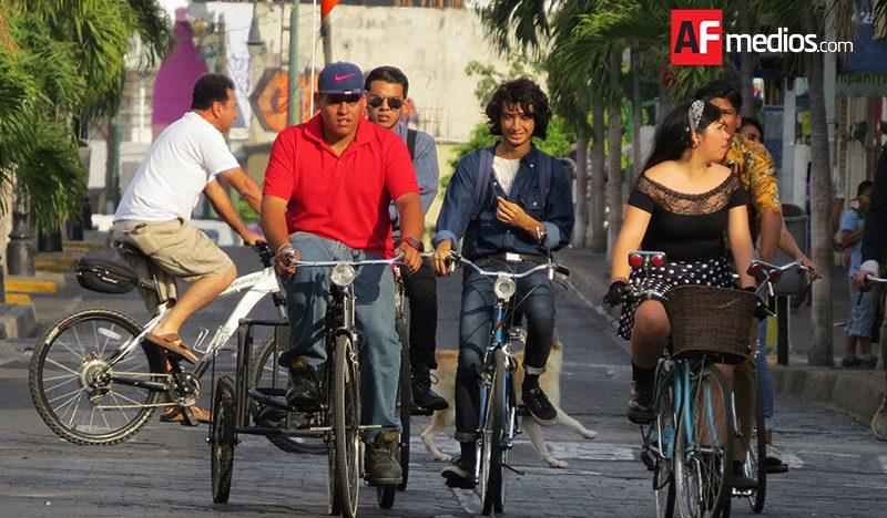 Hoy 2do Festival de Bicicleta en Colima