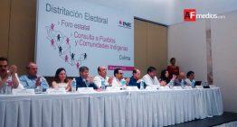 Colima tendrá nueva distritación electoral: Marco Antonio Baños