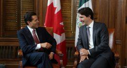 Peña Nieto y Trudeau conversan vía telefónica sobre el TLCAN