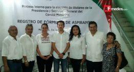 Rubén Álamo se registra para dirigir el PRI en Manzanillo