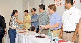 Becas Coca Cola-U de C concretan sueños de los estudiantes: Hernández Nava