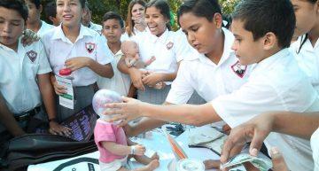 Educación detecta 147 estudiantes de secundaria embarazadas o con hijos