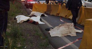 Asaltan autobús y pasajero los mata en la México-Toluca