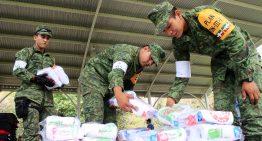 Gobierno del estado entrega apoyos a habitantes de la Becerrera