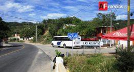 Operativo policiaco en Las Juntas en Manzanillo, por herido y supuesto levantón