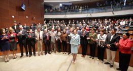 Senado ratifica y toma protesta a Arely Gómez González como titular de la SFP