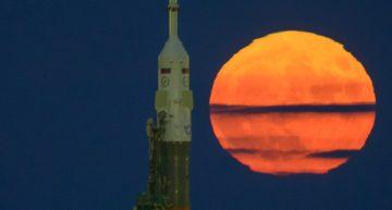 Si el clima lo permite, se verá Super Luna también esta noche