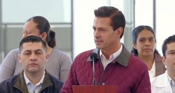 EPN instruye a Sector Salud atender a víctimas del incendio en Tultepec