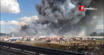 Aumenta a 35 los muertos por explosión en Tultepec