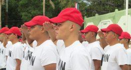 Más de mil 300  jóvenes reciben cartilla del Servicio Militar Nacional