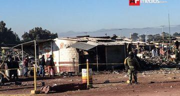 Fallecidos en Tultepec ya suman 36: Gobierno Edomex