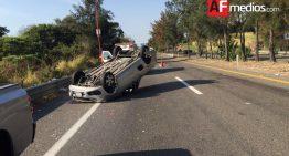 Accidente en la Colima – Guadalajara, hay un lesionado